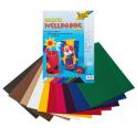 Stock CARTONCINO ondulato 10 fogli a colori misti