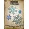 FUSTELLA BIGZ L DIE - STACKED SNOWFLAKES 660052- By Tim Holtz