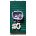 "Stampo artig.silicone atossico ""CROCE TAO SIMBOLI CRESIMA"" da 5cm"