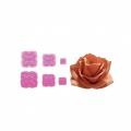 Stampi per moosgummi, petali di rosa