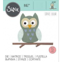 FUSTELLA BIGZ DIE - GUFO SU RAMO OWL 662587