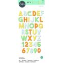 SIZZIX BIG XL - ALFABETO SPESSO CHUNKY ALPHABET 664385