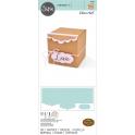 SIZZIX BIG XL - SCOREBOARDS XL DIE - BOX GIFT WITH SCALLOP EDGES 664345