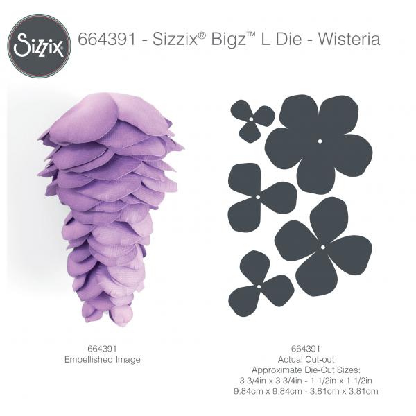 Fustella Sizzix BigZL 664391 Glicine