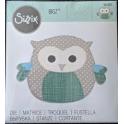 FUSTELLA BIGZ DIE - GUFO OWL 8- 663383